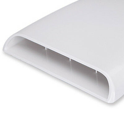 1PC Fashion White Hot NewDecorative Air Flow Intake Hood Scoop Vent Bonnet Cover