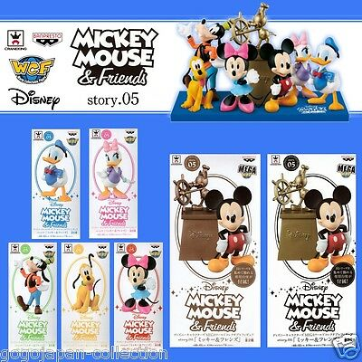 Disney WCF World Collectable Figure story.5  MICKEY & Friends Complete set