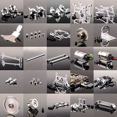 Aluminum upgrade part Silver RC 1/18 WLTOYS Off-road A949 A959 A969 A979 K929