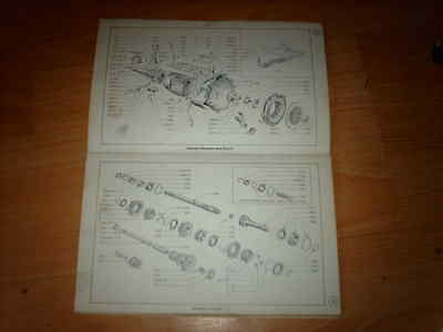 Ford Parts catalogue Anglia Saloon Estate  OEM Ford numbers