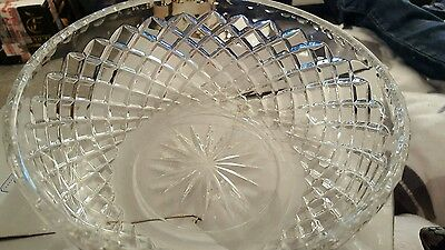 John Jenkins Cut Crystal Large Bowl