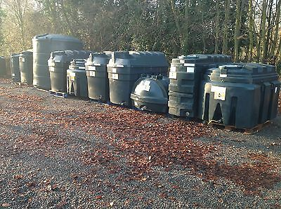VARIOUS (TiTAN )BUNDED HEATING OIL TANKS **** FREE LOCAL DELIVERY *****