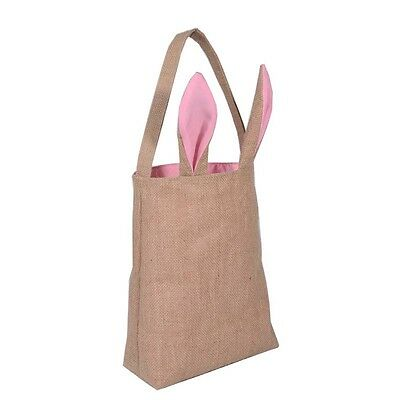 Easter Bunny Bags Rabbit Ears Design Basket Bag Carrying Eggs/Gifts for Easter