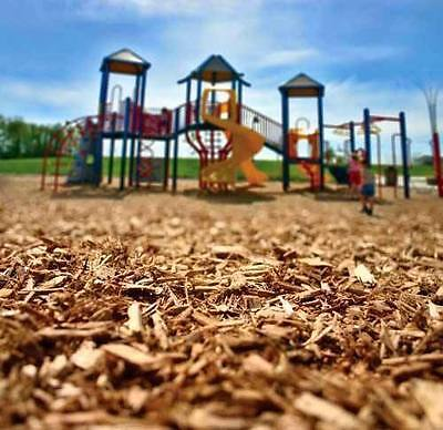 Pine Play Area Bark Childrens Playground Grade Wood Chips 1000 Litre Bag