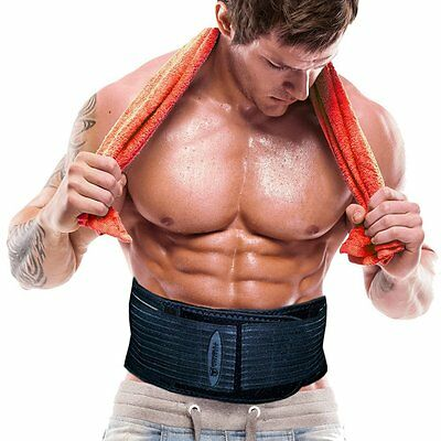 THE SHRED ABS THERMOGENIC ACTION TONING BELT *NEW* LARGE SIZE Fits 36'-45 Waist