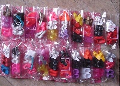 60 pair of shoes fit for Barbie dolls @2015