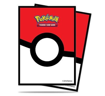 Pokeball Ultra Pro Deck Protectors Pokemon Trading Card Sleeves (65)