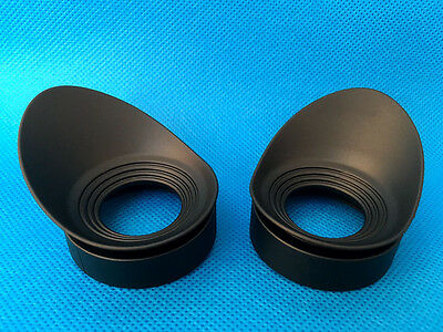 Binoculars telescope microscope Eyepiece cups eye guards EyeShield for 40mm 2PCS