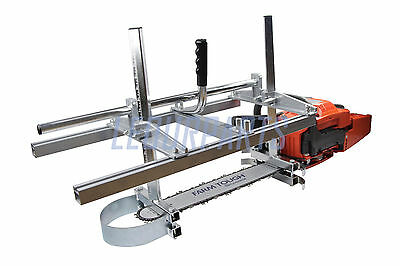 """Portable Chainsaw Mill Planking Milling From 14"""" to 24"""" Guide Bar Holzfforma"""