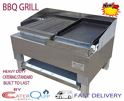 2ft Charcoal BBQ Charcoal Grill  Barbecue Grill  Heavy Duty For Commercial Use