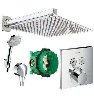 HANSGROHE Select Touch Thermostat, Ibox, 300mm Kopfbrause,ShowerSelect ibox A2-Q