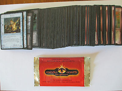 Herr Ringe - The Dragons C/UC Set - Alle 130 Karten MEccg tcg lotr Smaug Middle