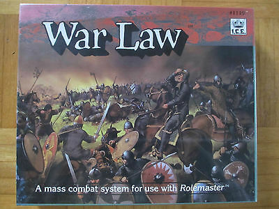 WAR LAW / new neu in OVP sealed / Roleplay wie AD&D / I.C.E. 1110 /  board game