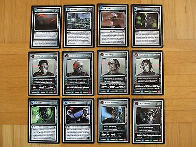 Star Trek CCG - Enhanced First Contact - ALL 12 Promos + ALL 4 Inlay - Promo ehc