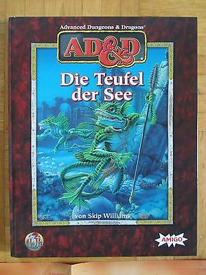 AD&D - DIE TEUFEL DER SEE - Fantasy Rollenspiel RPG tsr Advanced Dragon 8301 HC