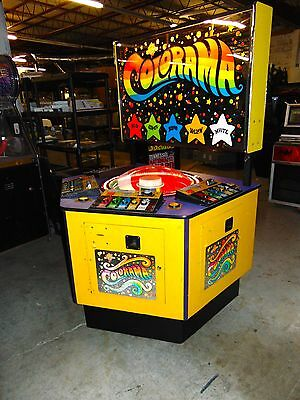 Colorama Four player redemption game arcade game
