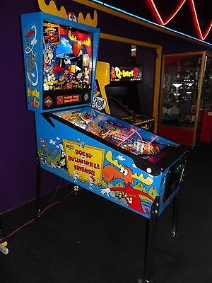 Data East Rocky and Bullwinkle Pinball Machine  *** LED's ****