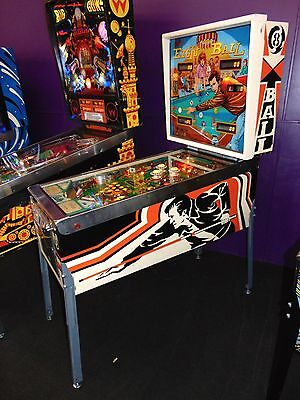 Bally Eight Ball Pinball Machine  ****  Fully Restored *****