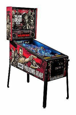 New Stern The Walking Dead Pro Pinball Machine