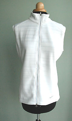 Bnwt Ladies Nike Golf Gilet White Therma Fit - Stay Warm Size M