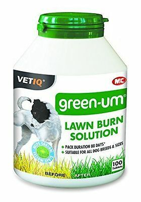 NEW VETIQ Green-UM 100 tabs Lawn Burn Solution Prevents Yellow Patches On SALE