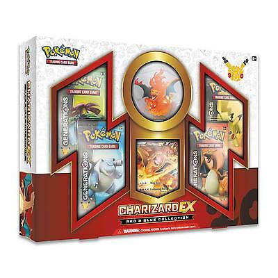 Pokemon Generations 20th Anniversary - Red & Blue Collection - Charizard-EX