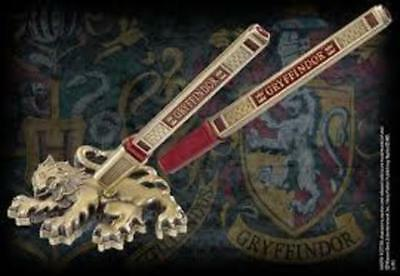 Harry Potter : GRYFFINDOR HOUSE PEN & DESK STAND The Noble Collection NOB8623