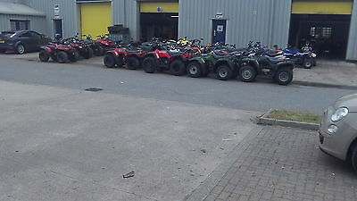 Honda Big Red 300 4X4 Farm Quad Atv Honda Quad Atv
