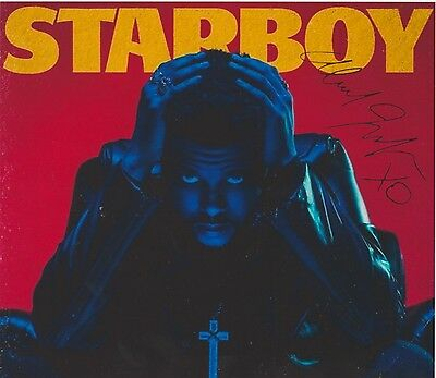 The Weeknd 2 Earned It The Hills Can't Feel My Face Starboy RARE SIGNED RP 8x10