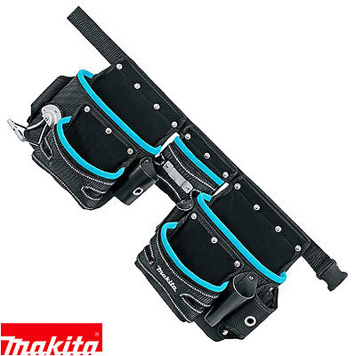 Makita Genuine P-71772 3 Pouch Belt Set for Tools / Holder New Blue Range