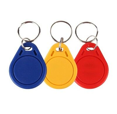 3X UID Changeable Sector 0 Block 0 Writable 13.56Mhz RFID Keyfobs Proximity Card