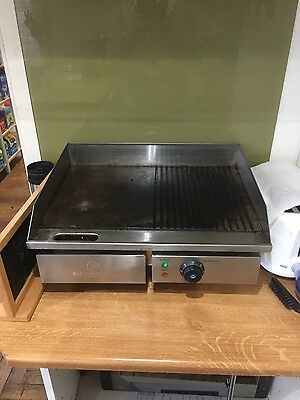 Commercial electric hotplate 60cm