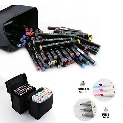 168 Colour Set General Marker Pen New Style Of Touch New Twin Broad Fine Glove