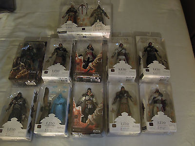Assassin's Creed - Lot 13 figurines Complete Neca