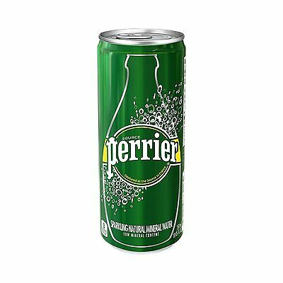 Perrier Sparkling Natural Mineral Water, Original, 8.45 Ounce Pack of 30