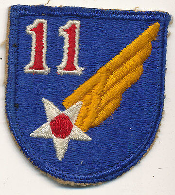 11th Air Force patch real WWII make US Army Air Force USAAF