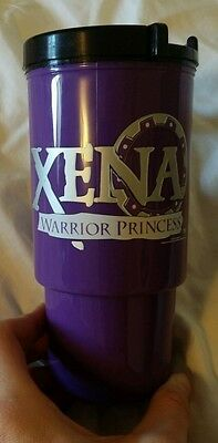 Xena Warrior Princess Official Travel Cup NEW