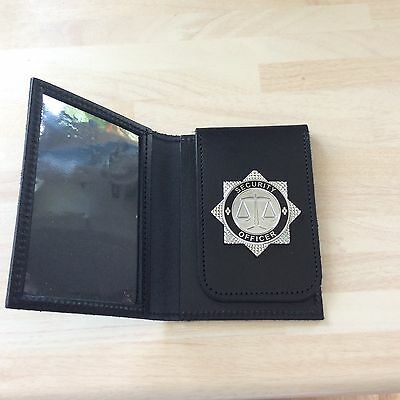 ID Card Holder / Wallet with Security Officer Badge