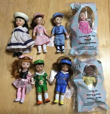 Madame Alexander Dolls McDonald's Happy Meal Toys 2005