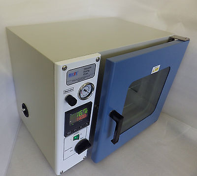 MESE Vacuum Drying Oven, 20L and 50L, CE conformity, Made in UK, 1 year warranty