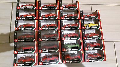 Collection of Bburago cars Ferrari 1:43 - Made in France