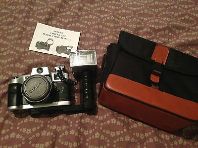 Olympia Nk 3030 Vintage Camera With Case,,works Fine,,virtually Unused..