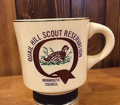 Boy Scout Mug Quail Hill Scout Reservation Monmouth Council New Jersey Coffee