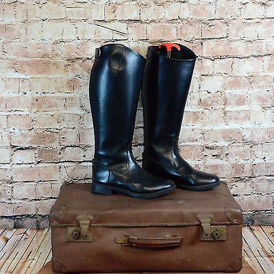 Sherwood Forest Long Riding Boots Black UK 5 W