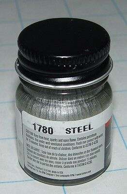 Model Masters Enamel Paint - Steel 1780 1/2Oz