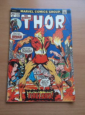 Marvel: The Mighty Thor #225, 1St Appearance Of Firelord, 1974, Vg+ (4.5)!!!