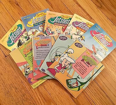 The Jetsons - 1992 Promotional Books - Lot Of 9 Fun Books & Crayon Fun Games