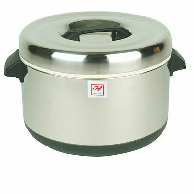 Thunder Group 60 Cup Stainless Steel Insulated Sushi Rice Container - Sej74000