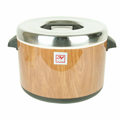 Thunder Group 60 Cup Stainless Steel Insulated Sushi Rice Container - Sej73000