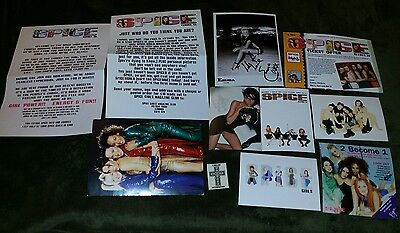 Spice Girls & Solo Promotional Materials Victoria Emma Melanie C Postcards